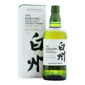 THE HAKUSHU DISTILLERS EDITION JAPANISH WH. 0.7L