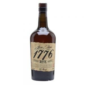WHISKY 1776 JAMES PEPPER RYE 46% 0.7L